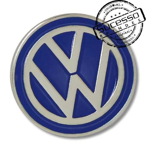 Pin, em metal de Lapela, botton, broche com alfinete, com trava borboleta personalizado, carro, veículo, automóvel, wolksvagem