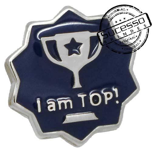 Pin, em metal de Lapela, botton, broche com alfinete, com trava borboleta personalizado, broche, broche personalizado, broche de metal, broche em metal, top, trofeu, reconhecimento, premiação