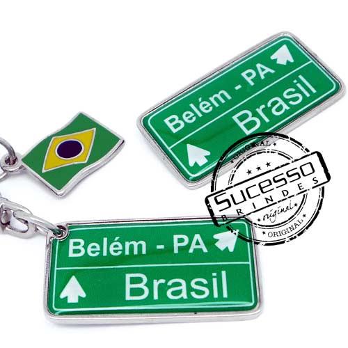 Projeto Especial Dufry Brasil, Belém, Belém do Pará, placa, cidades