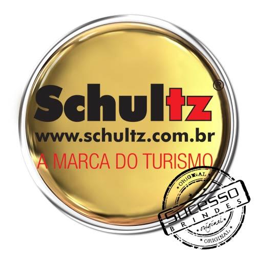 Pin em Metal Adesivado, Modelos padrão, broche, redondo, Schultz