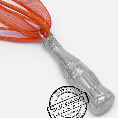Colar, Cordão ou corrente com pingente personalizado Garrafa de Coca Cola