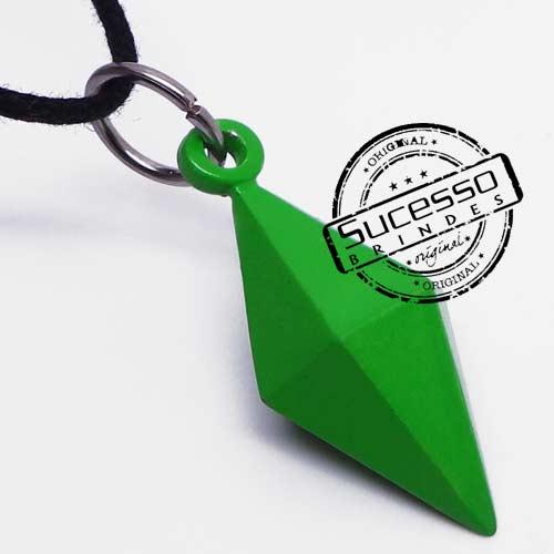 Colar, Cordão ou corrente com pingente personalizado Diamante The Sims