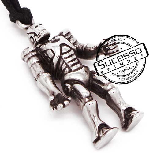 Pingente Personalizado homem de ferro, robô miniatura