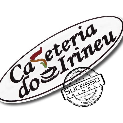 Pin Esmaltado ou Resinado em metal de Lapela, botton, broche com alfinete, com trava borboleta personalizado Café Cafeteria