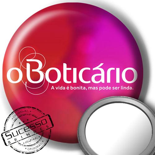 Botton Espelho para Bolsa O Boticário
