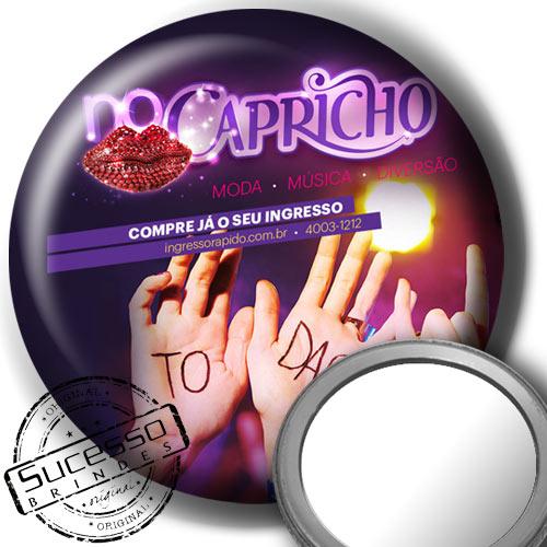 Botton Espelho para Bolsa Capricho