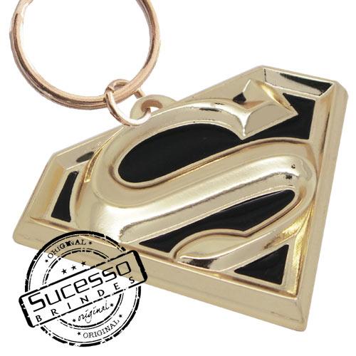 Chaveiro Metal Esmaltado filme Super Homem