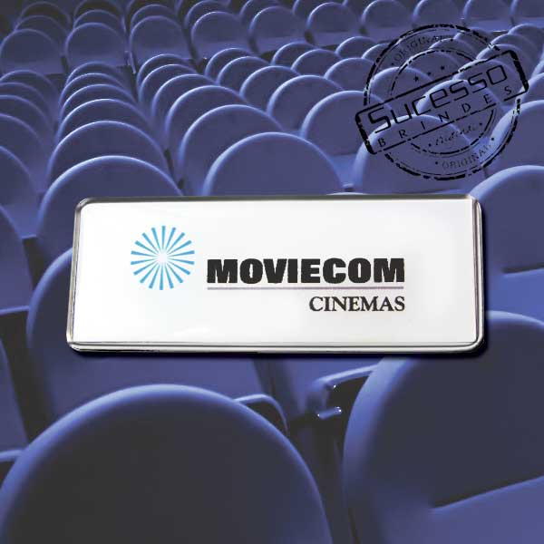 Projeto Especial Moviecom Cinema, cinema, filme, Warner Bros, crachá, pin