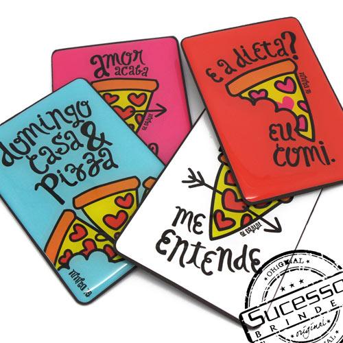 Projeto Especial Da Juju, ima para geladeira, domingo casa e pizza, mantas magnética, adolescentes