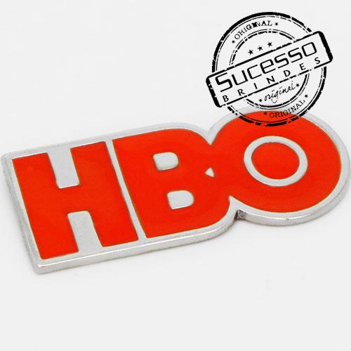 Pin Esmaltado ou Resinado em metal de Lapela, botton, broche com alfinete, com trava borboleta personalizado tv net hbo, tv, tv a cabo, televisão, canal