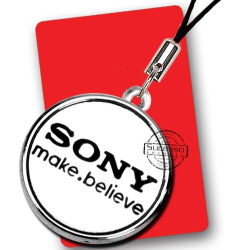 Pingente ou Piercing para Celular Sony