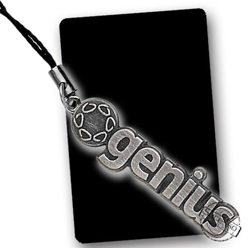 Pingente e Piercing para Celular em Metal Genius