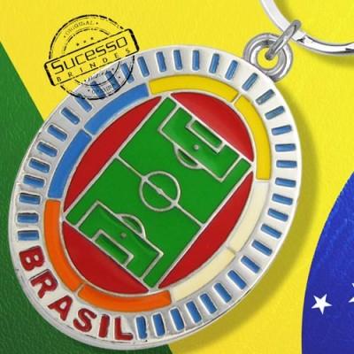CHAVEIRO BRASIL COPA FUTEBOL