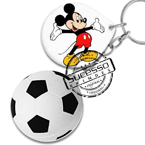 Chaverio Bola de Futebol, copa do mundo com logo e personagem Disney