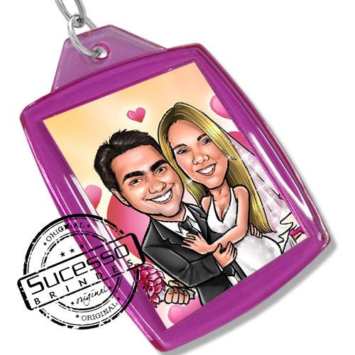 Chaveiro, Chaveiros porta foto 3X4, para fotografia, personalizado aniversário, noivos, casamento, caricatura, lembrancinha