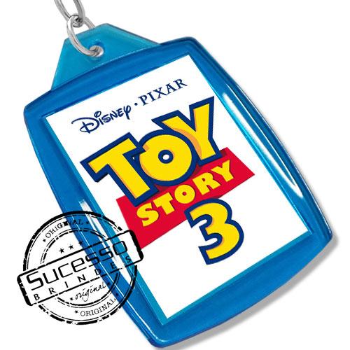 Chaveiro, Chaveiros porta foto 3X4, para fotografia, personalizado filme, desenho, toy story, azul