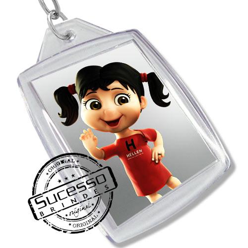 Chaveiro, Chaveiros porta foto 3X4, para fotografia, personalizado personagem, boneca