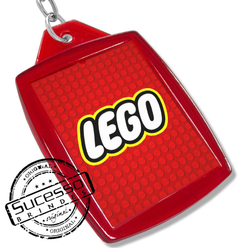 Chaveiro, Chaveiros porta foto 3X4, para fotografia, personalizado lego vermelho