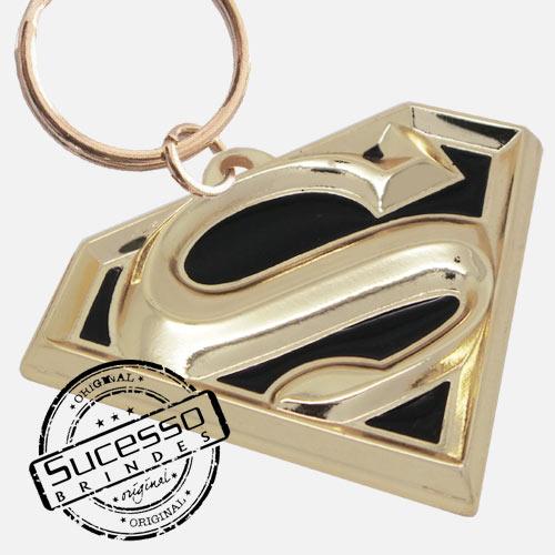 Chaveiro 3d de personagem de filme e desenho, disney, marvel Super Homem