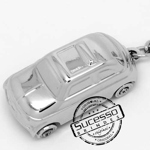 Chaveiro 3d réplica em metal automotivo carro