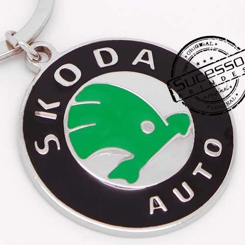 Chaveiro automotivo, veículos, carros concessionária Skoda