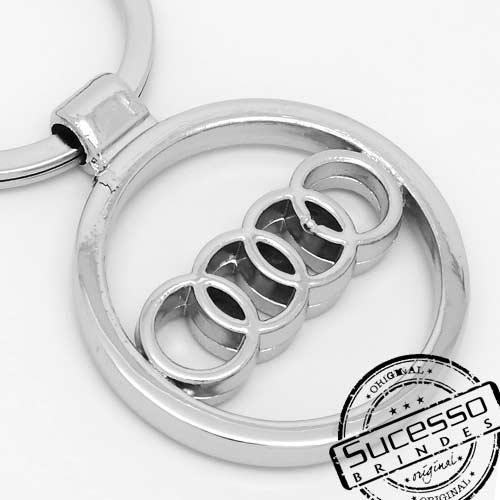 Chaveiro automotivo, veículos, carros concessionária Audi