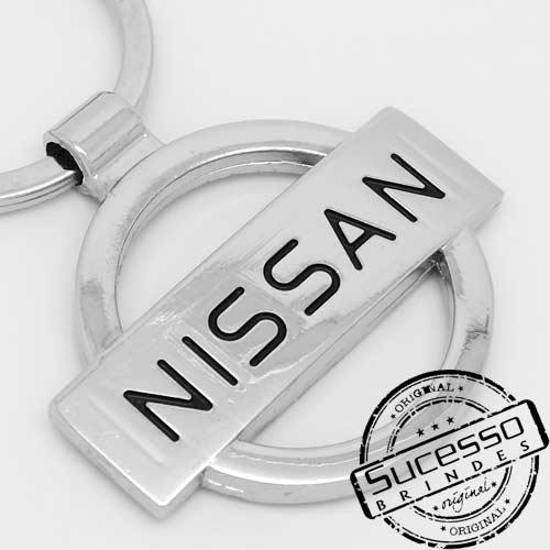 Chaveiro automotivo, veículos, carros concessionária Nissan