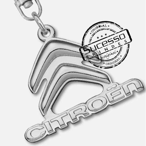Chaveiro automotivo, veículos, carros concessionária Citroen