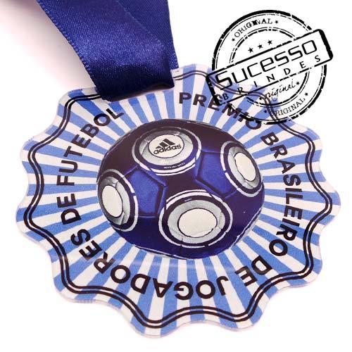 Medalha em acrílico para premiação de competições Adidas