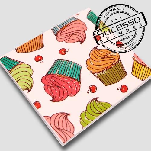 Placas de sinalização em pvc ou acrílico cupcake para doceria