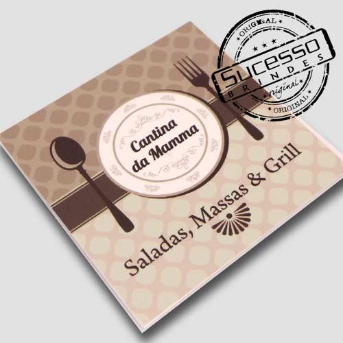 Placas de sinalização em pvc ou acrílico restaurante talheres e prato