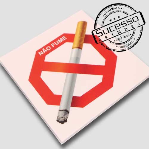 Placas de sinalização em pvc ou acrílico Proibido fumar