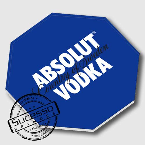 Porta Copos Vodka Absolut