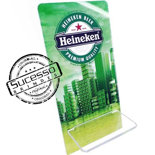 Suporte porta celular cerveja Heineken Porta Celular, Acessório para celular, para Iphone, Samsung Galaxi, Nókia, Lg, Sony