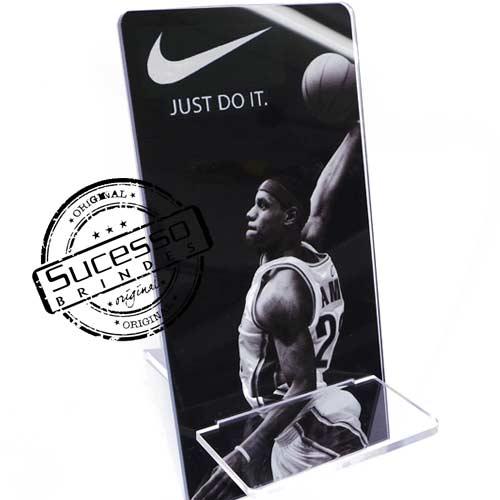 Suporte porta celular Nike Porta Celular, Acessório para celular, para Iphone, Samsung Galaxi, Nókia, Lg, Sony
