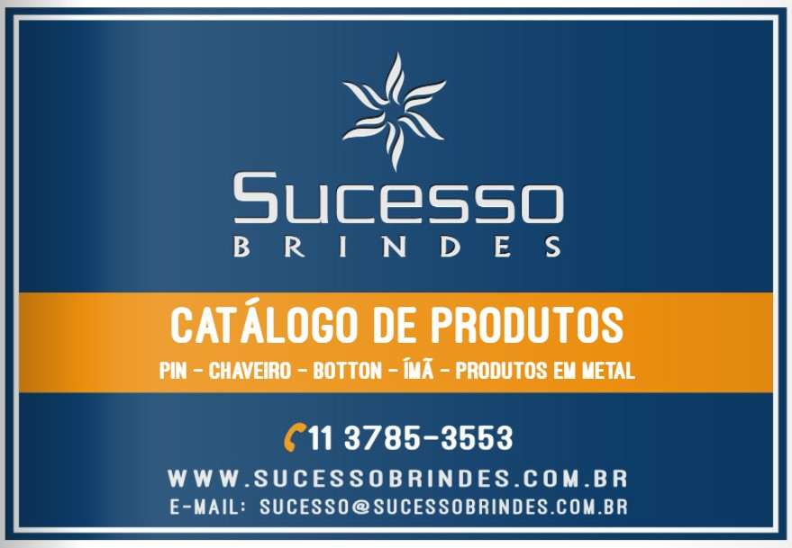 CATÁLOGO SUCESSO BRINDES - BRINDES DIVERSOS