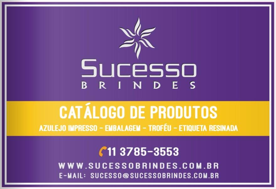 CATÁLOGO SUCESSO BRINDES - MAIS BRINDES