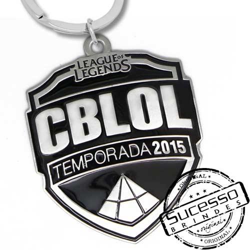 Chaveiro em Metal Esmaltado, game, jogo, league of legends