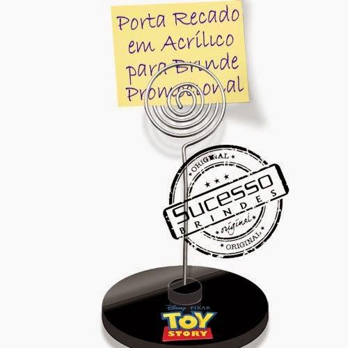 Porta recados, porta recado, suporte para recado personalizado filme, desenho, Toy Story