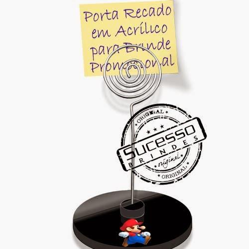 Porta recados, porta recado, suporte para recado personalizado Jogo, game, Mario Bros