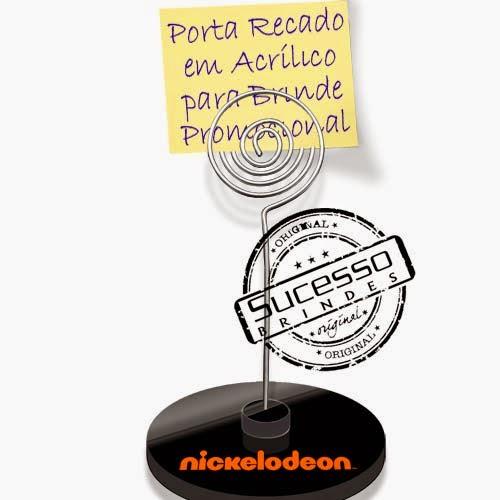 Porta recados, porta recado, suporte para recado personalizado criança, infantil, nickelodeon