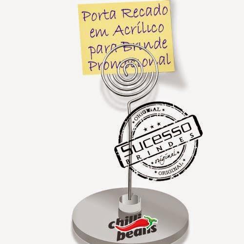 Porta recados, porta recado, suporte para recado personalizado chilli beans