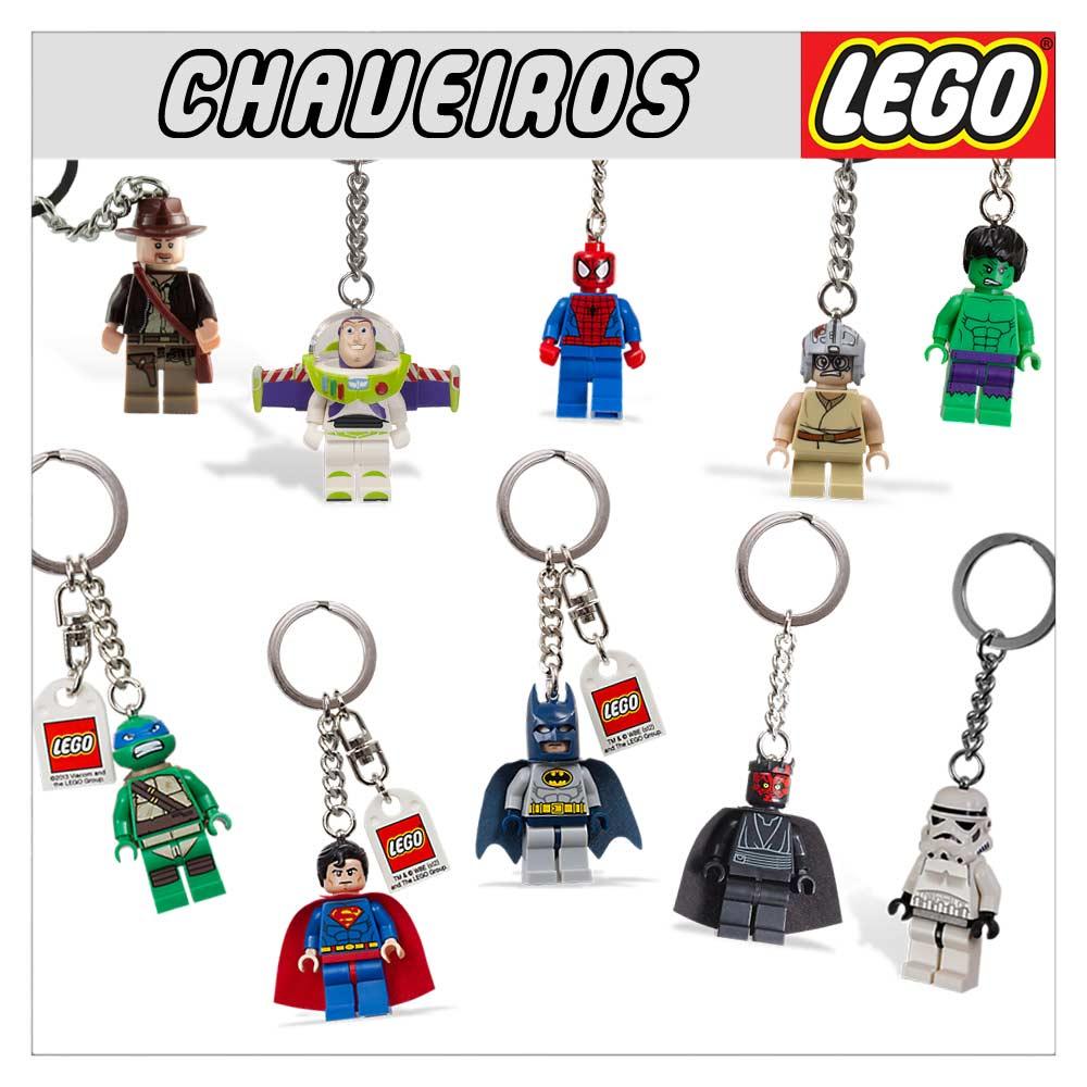 CHAVEIROS-LEGO