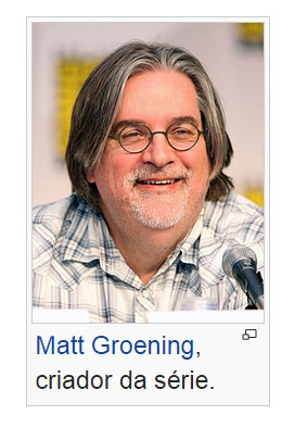 Matt Groening criador do The Simpsons