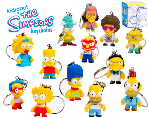 The-Simpsons-Keychains