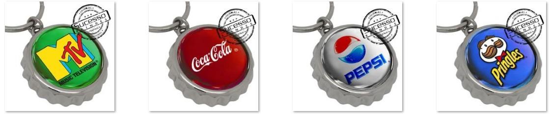 abridores de garrafa personalizados fabricados pela Sucesso Brindes