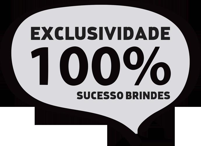 EXCLUSIVIDADE SUCESSO BRINDES PEQUENO