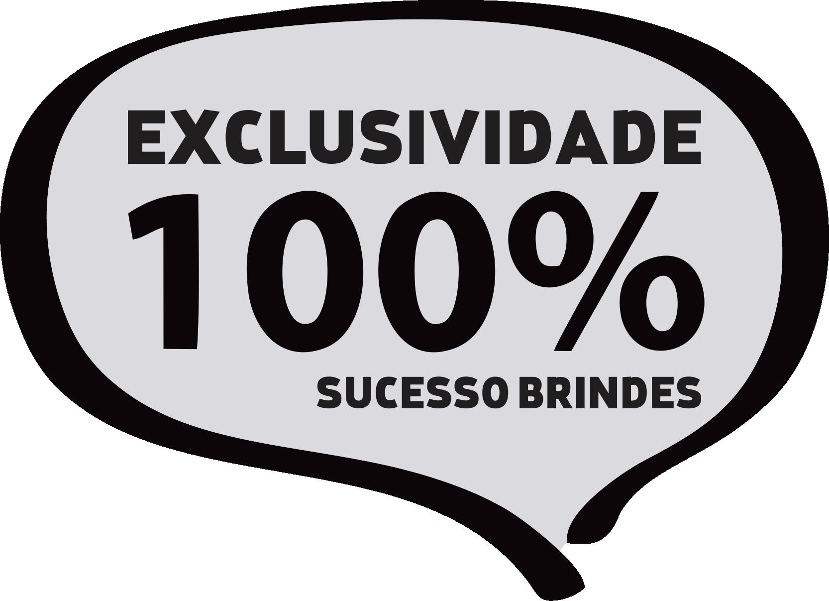 EXCLUSIVIDADE SUCESSO BRINDES