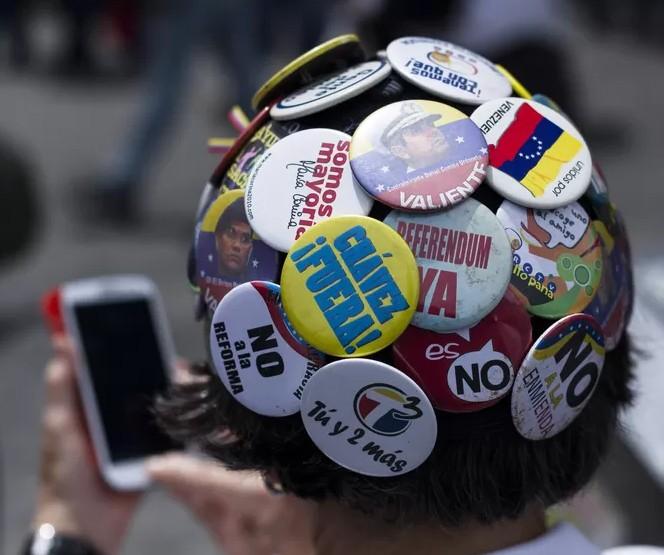 bottons de protesto