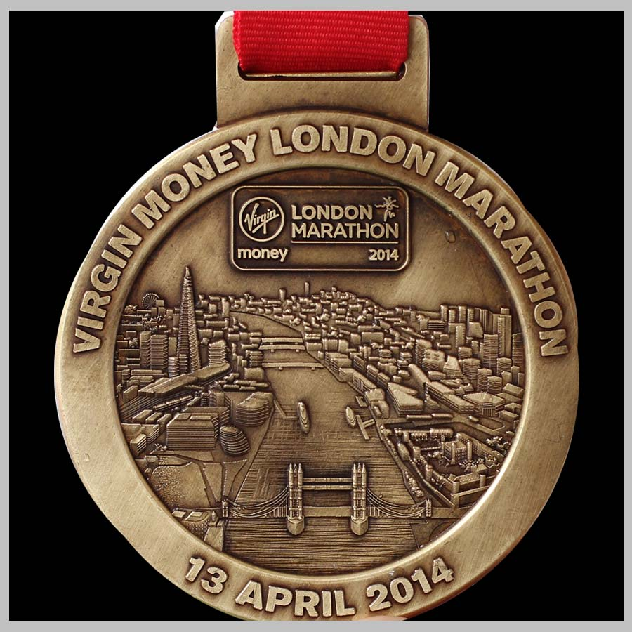 medalha-maraona--virgin-money-e-Londres